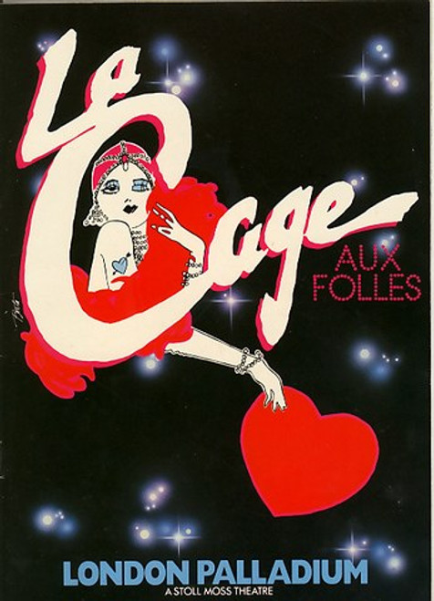 La Cage aux Folles (Musical), Geogre Hearn, Denis Quilley, Brian Glover, Phyllida Laws - 1986 West End Season London