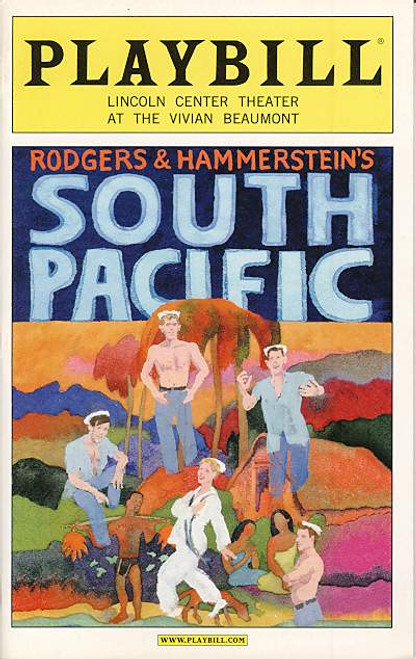 South Pacific  is a 1949 musical with music by Richard Rodgers, lyrics by Oscar Hammerstein II and book by Hammerstein and Joshua Logan.
