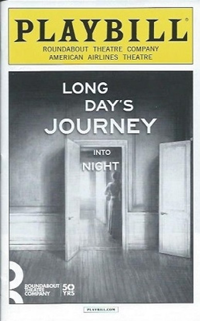 Long Days Journey into Night (May 2016), By Eugene O'Neill – Broadway Revival American AirlinesTheatre, Playbill, Gabriel Byrne, John Gallagher Jr., Jessica Lange, Michael Shannon, Colby Minifie
