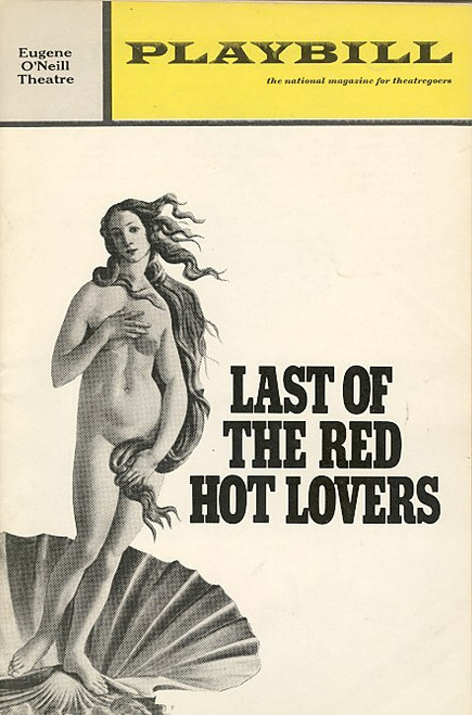 Last of the Red Hot Lovers (Play), James Coco, Rita Moreno, Marcia Rodd, Doris Roberts, 1971 Eugene O'Neill Theatre