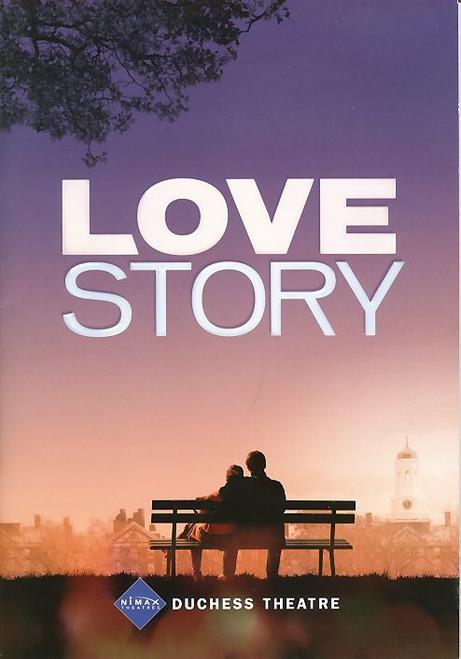 Love Story the Musical (Musical), Emma Williams, Michael Xavier, Peter Polycarpou, Richard Cordery - 2010 London Production, Love Story playbill, Love Story Program
