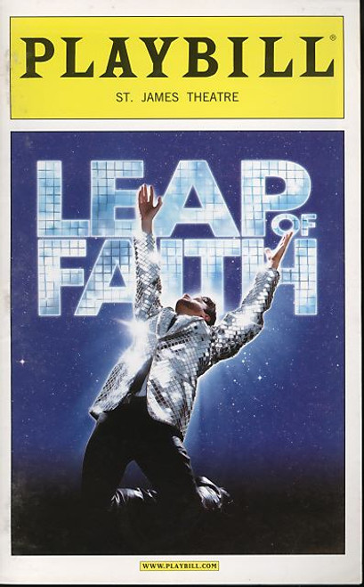 Leap of Faith, Musical, Raul Esparza, Jessica Phillips, Kendra Kassebaum, Kecia Lewis-Evans - 2012 Broadway Production
