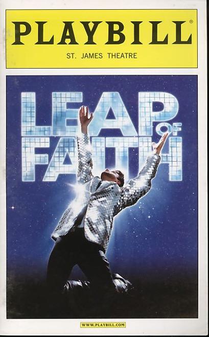 Leap of Faith, Musical, Raul Esparza, Jessica Phillips, Kendra Kassebaum, Kecia Lewis-Evans - 2012 Broadway Production