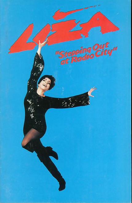 Liza Stepping out at Radio City (Concert Show), Liza  Minnelli American Actress and Singer - 1991 Radio City NYC