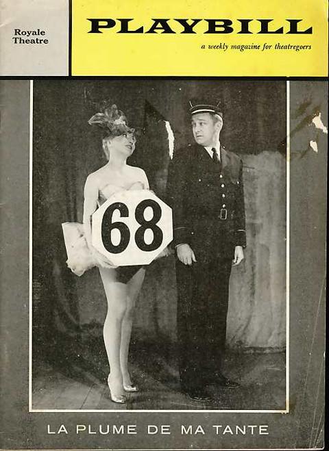 La Plume de Ma Tante (Revue), Colette Brosset, Maurice Baquet, Jacques Legras, Fredrick O'Brady - 1960 Broadway Production