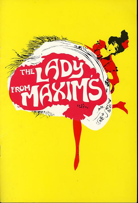 The Lady from Maxim's (Play), Ronald Falk, Gary Files, Barry Otto, Judy Nunn, Jon Ewing -  1978 Australian Production