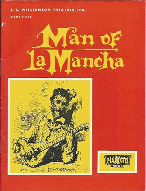 Man of La Mancha (Musical), Charles West, Suzanne Steele, Robert Healey  Brisbane Her Majesty's Theatre 1968