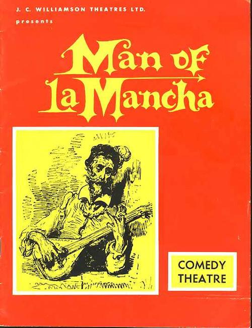 Man of La Mancha (Musical), Charles West, Suzanne Steele, Robert Healey - Return Season to Melbourne Australia 1976