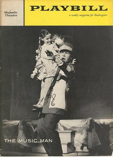 The Music Man (Musical),  Robert Preston,Barbara Cook, David Burns, Pert Kelton Majestic Theatre 1959