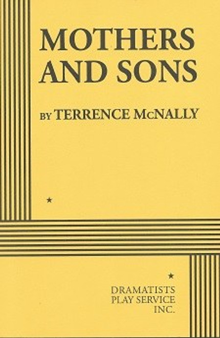Mothers and Sons Broadway Play Book, by Terrence McNally, 2014 Broadway ProductionTyne Daly, Frederick Weller, Grayson Taylor, Bobby Steggert
