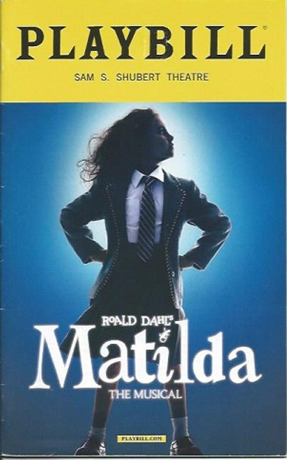 Matilda the Musical, Music and lyrics by Tim Minchin, StarringAllison Case, Rick Holmes, Ora Jones, Bryce Ryness, Amy Spranger