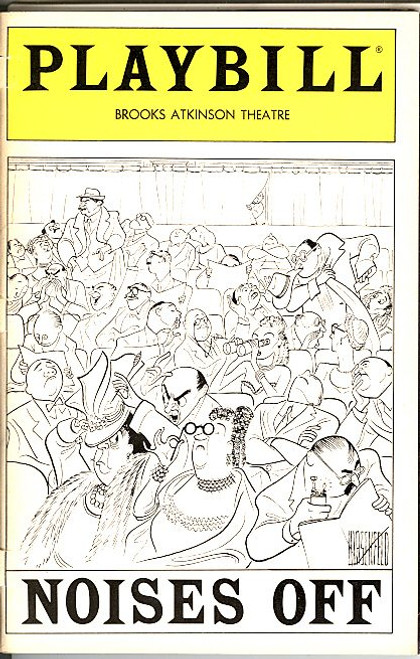 Noises Off (Dec 1983), Victor Garber -Dorothy Loudon, Brooks Atkinson Theatre