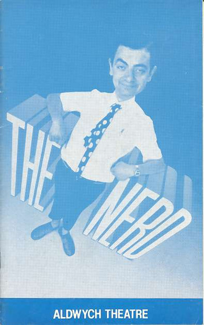The Nerd (Play), Rowan Atkinson, Mary Maddox, Michael j Jackson, Harry Ditson - 1984 West End Production London