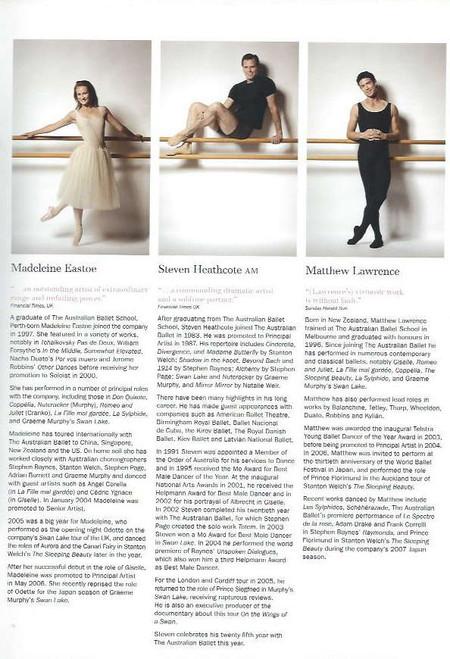 The Nutcracker (Ballet) Robert Curran, Lucinda Dunn, Madeleine Eastoe, Steven Heathcote, Matthew Lawrence, Souvenir Brochure Australian Ballet 2007 Season