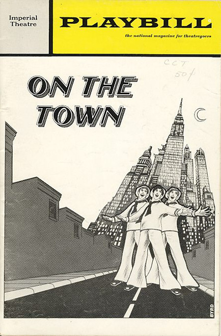 On The Town (Musical),   Bernadette Peters, Phyllis Newman, Ron Husmann Imperial Theatre, Donna McKechnie, Jess Richards, Remak Ramsay, Marilyn Cooper