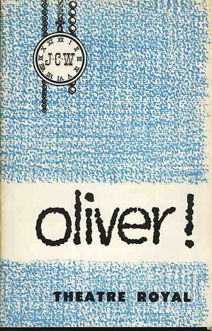 Oliver (Musical) , Malcolm Shield, Richard Watson, Nancy Brown, Tony Le Parker - 1962 Australia Production Theatre Royal Sydney