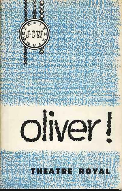 Oliver (Musical), Malcolm Shield, Richard Watson, Nancy Brown, Tony Le Parker - 1962 Australia Production Theatre Royal Sydney