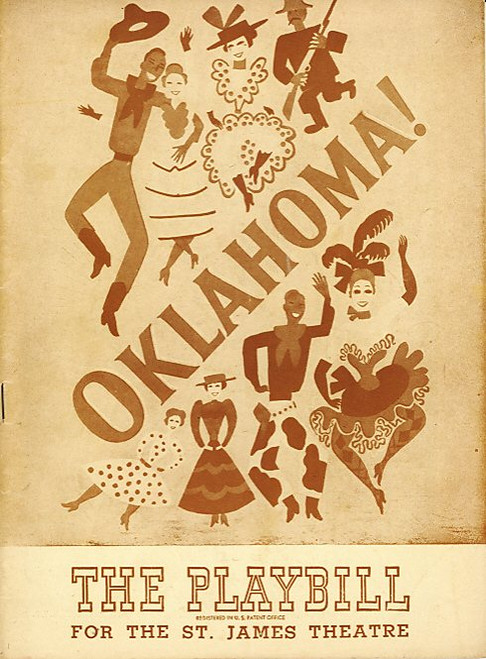 Oklahoma (Musical), Jack Kilty, Ruth Weston, Betty Jane Watson, Bruce Hamilton, Allen Sharp - St James Theatre