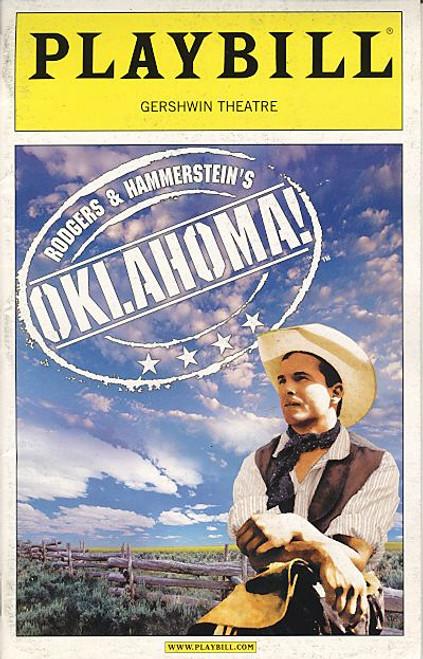 Oklahoma (Musical), OBC Patrick Wilson, Josefina Gabrielle, Andrea Martin Shuler Hensley, Jessica Boevers, Gershwin Theatre