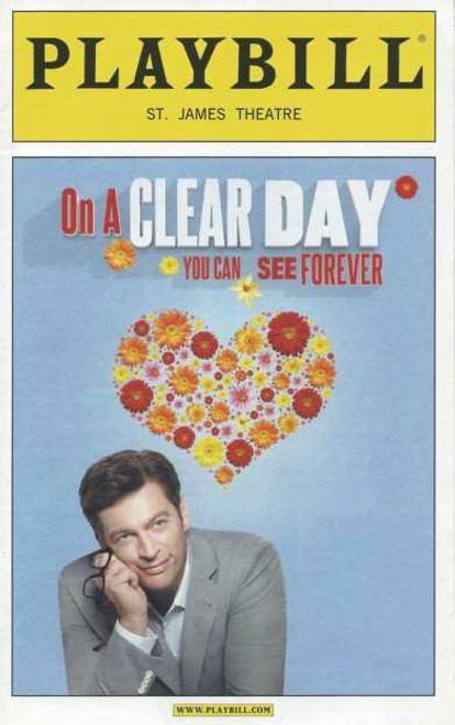 On a Clear Day You Can See Forever (Musical)  2011, Starring Harry Connick Jr,Jessie Mueller,David Turner,Heather Ayers,Benjamin Eakeley