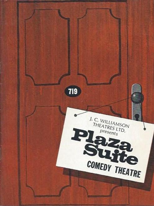 Plaza Suite, byNeil Simon, Australian Tour 1969, Googie Withers, Alfred Sandor, Malyn Atkins, Stephen Holtsbaum, David Whitford, Plaza Suite Program, Broadway Memorabilia