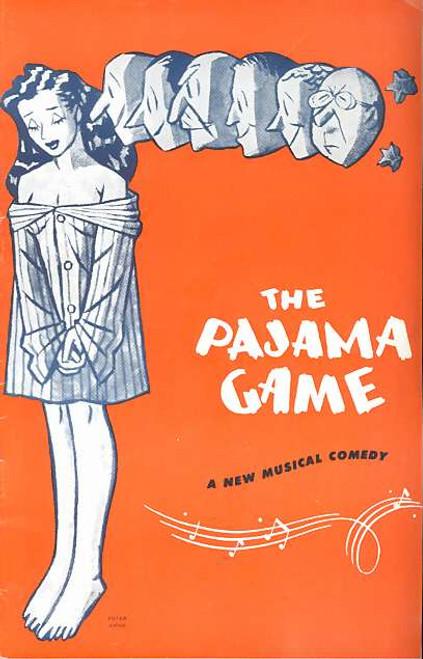 The Pajama Game (Musical), Keith Petersen, Robert Healey, Tikky Taylor, Toni Lamond, Jack Little, Jill Perryman, Fay Agnew, Norma Dennis- 1957 Australia Production Melbourne