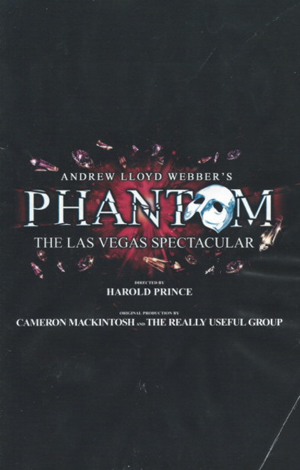 The Phantom of the Opera (Musical) Anthony Crivello, Serra Boggess, Brent Barrett Las Vegas Spectacular Venetian Resort