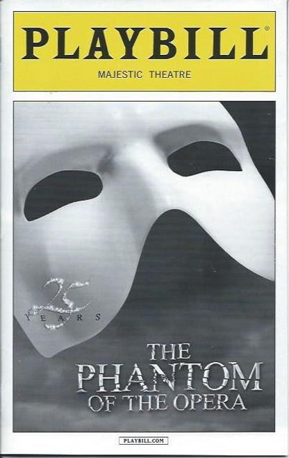 Phantom of the Opera (Musical), Hugh Panaro, Mary Michael Patterson, Jeremy Hays, Laird Mackintosh, Tim Jerome, Playbill/ Program Date Oct 2013 Majestic Theatre