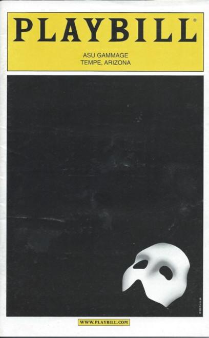 Phantom of the Opera (Musical), Tim Martin Gleason, Trista Moldovan, Sean MacLaughlin, DC Anderson, Broadway in Arizona Edition Playbill/ Program