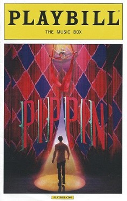 Pippin Broadway Playbill July 2014, Music Box Theatre, Broadway Memorabilia, Kyle Dean Massey, Ciara Renee, John Rubinstein, Charlotte d'Amboise, Rachel Bay Jones, Annie Potts
