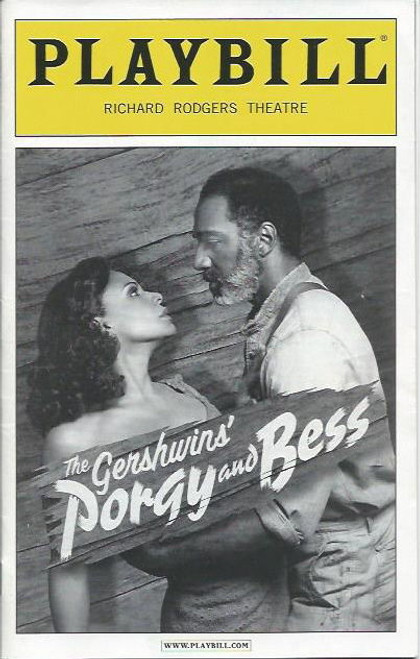 Porgy and Bess (Musical), Audra McDonald, Norm Lewis, David Alan Grier, Phillip Boykin, Nikki Renee Daniels, Joshua Henry, Christopher Innvar, Bryonha Marie Parham, NaTasha Yvette WilliamsDec 2011 Preview Broadway