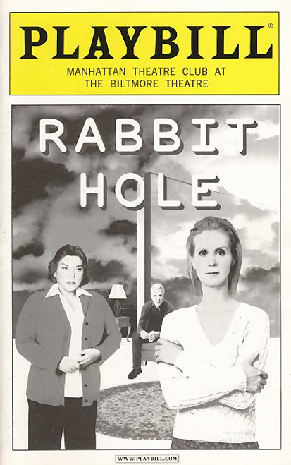 Rabbit Hole (Play),  OBC  Tyne Daly, Cynthia Nixon, John Slattery, John Gallagher JR, Biltmore Theatre, Tyne Daly, Cynthia Nixon, John Slattery, John Gallagher JR, Mary Catherine Garrison