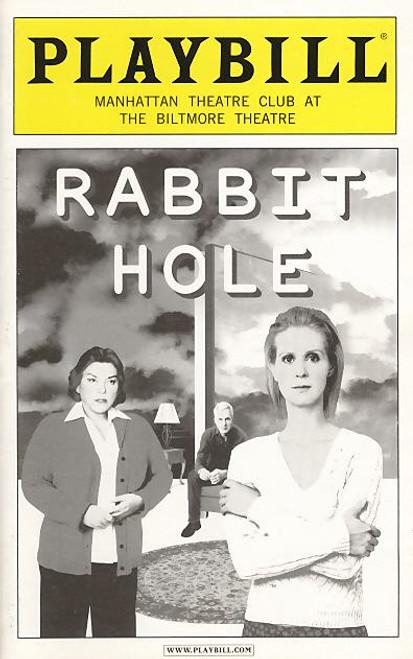 Rabbit Hole (Play), Tyne Daly, Cynthia Nixon, John Gallagher jr, Biltmore Theatre, Mary Catherine Garrison, John Slattery, Biltmore Theatre