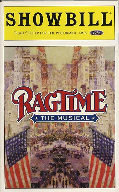 Ragtime (Musical),  Scott Carollp, Tommy Hollis, Michele Ragusa, Bernie Yvon Ford Center for the Performing Arts, Scott Carollp, Tommy Hollis, Michele Ragusa, Bernie Yvon, Judy Kaye