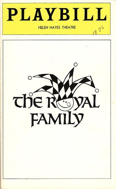 The Royal Family (Play), Rosemary Harris, Eva LeGallienne, Ellis Rabb, Sam Levene,  Helen Hayes Theatre, Joseph Maher, Mary Louise Wilson
