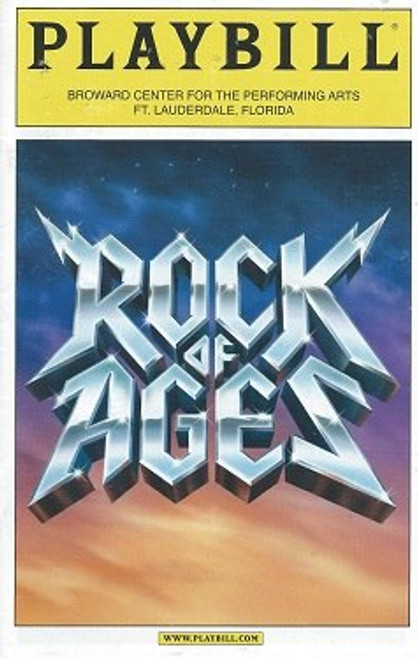 Rock of Ages on USA Tour Jan 2011, Constantine Maroulis - Nick Cordero Ft. Lauderdale Florida
