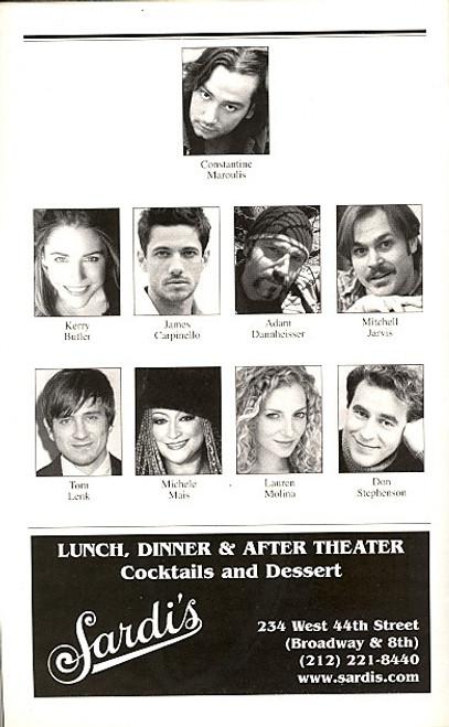 Rock of Ages (Musical), Constantine Maroulis, Kerry Butler, James Carpinello, Adam Dannheisser, Brooks Atkinson Theatre