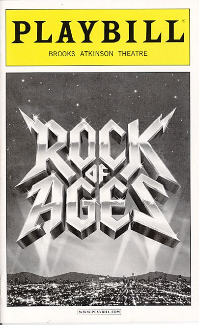 Rock of Ages (Musical), Constantine Maroulis, Kerry Butler, James Carpinello, Adam Dannheisser, Brooks Atkinson Theatre