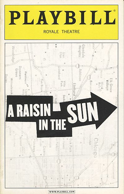 A Raisin in the Sun (Play), Sean Combs, Audra McDonald, Phylicia Rashad, Sanaa Lathan, Royale Theatre, Broadway Memorabilia