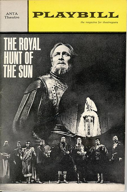 The Royal Hunt of the Sun (Play),   by Peter Shaffer Alun Armstrong, Paterson Joseph, Anta Theatre