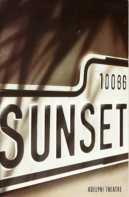 Sunset Boulevard (Musical), Betty Buckley, John Barrowman, Michael Bauer, Anita Louise Combe - 1994 London Production, Sunset Boulevard Memorabilia
