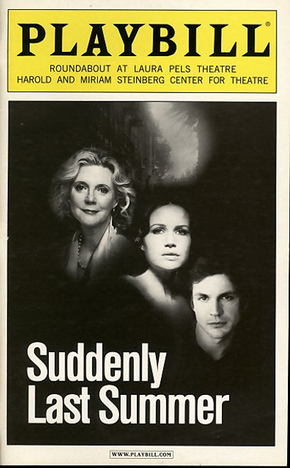 Suddenly Last Summer (Play), Blythe Danner, Gale Harold, Karen Walsh, Becky Ann Baker - 2006 Broadway Production
