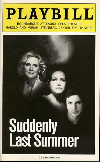 Suddenly Last Summer (Play), Blythe Danner, Gale Harold, Karen Walsh, Becky Ann Baker - 2006 Broadway Production
