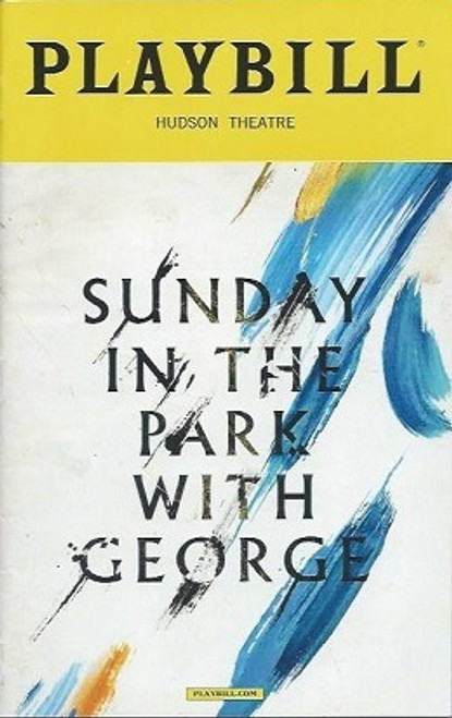 Sunday in the Park with George, Jake Gyllenhaal, Annaleigh Ashford Playbill Feb 2017