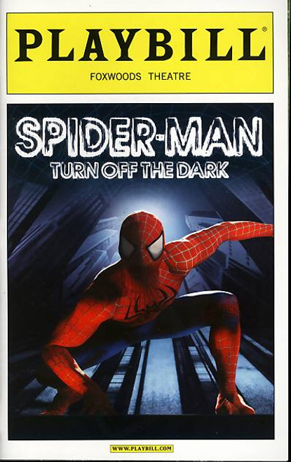 Spider-Man Turn Off The Dark (Musical), Reeve Carney, Jennifer Damiano, T.V Carpio, Patrick Page - May 2011 Broadway