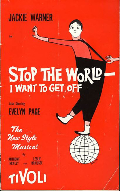 Stop the World I Want to Get Off (Musical), Evelyn Page, Jackie Warner  - 1964 Australian production Tivoli Theatre Melbourne Australia