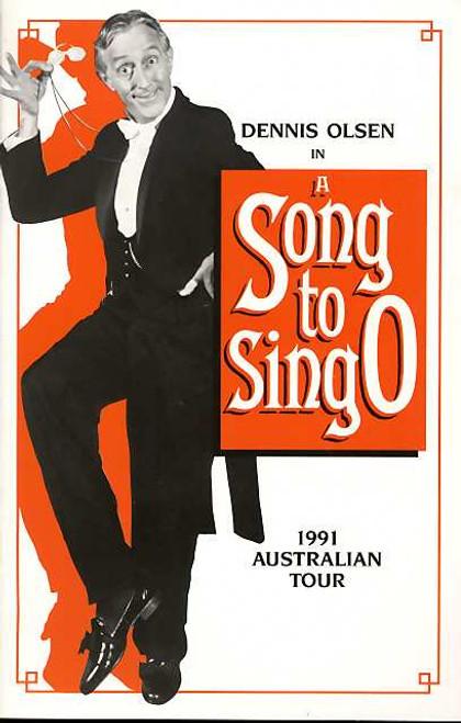 A Song to Sing O (Opera), Dennis Olsen - Musical Director Julia De Plater - 1991 Australian Tour, Presented by Victoria State Opera