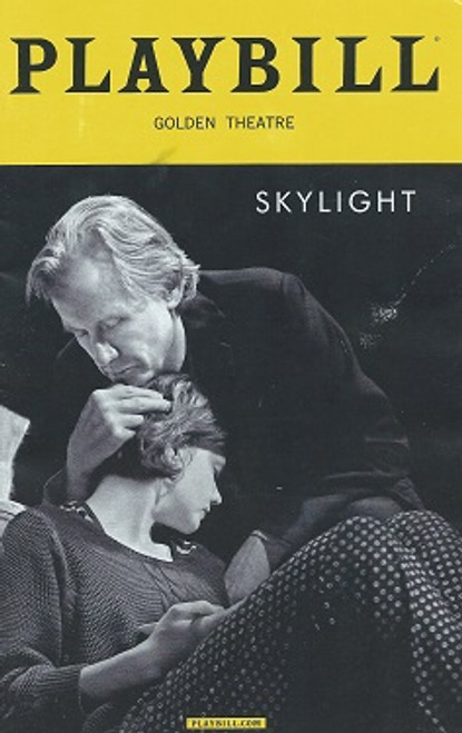 Skylight by David Hare 2015 Season, Playbill March 2015, Carey Mulligan, Bill Nighy, Matthew Beard, Stephen James Anthony, David Andrew Macdonald, Ryman Sneed