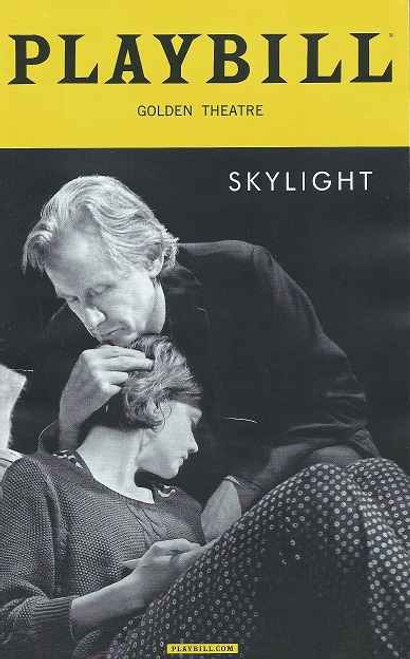 Skylight (Play), by David Hare - Playbill April 2015, Carey Mulligan, Bill Nighy, Matthew Beard, Stephen James Anthony, David Andrew Macdonald, Ryman Sneed