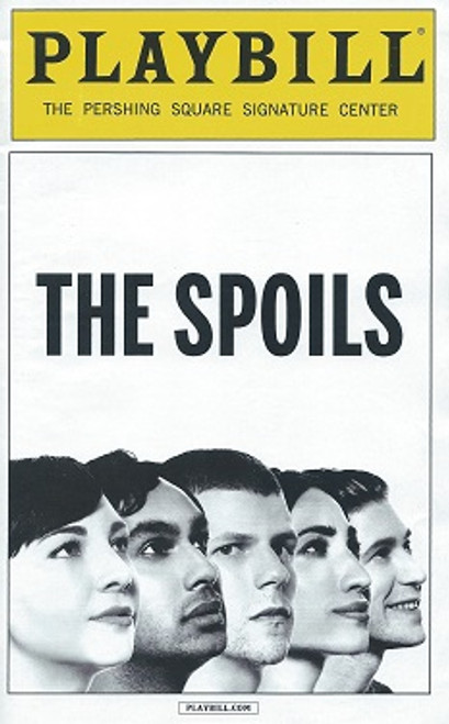 The Spoils by Jesse Eisenberg May 2015, Pershing Square Signature Center, Erin Darke, Jesse Eisenberg, Kunal Nayyar, Annapurna Sriram, Michael Zegen